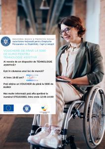 """Proiectul """"Facilitarea Inserției pe piața muncii a persoanelor cu dizabilități"""""""